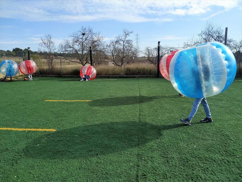 ¿Son las bubbles soccer aptas para todo tipo de público?