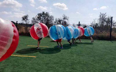 ¿Dónde empezó el Bubble soccer o fútbol burbuja?